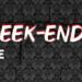 Programme du week-end (16/17 Octobre)